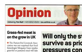 Grass-fed meat is on the grow in UK – Farmers Weekly