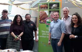 Mutton tasting at Abergavenny Food Festival