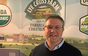 Launch of first UK-made 100% grass-fed Pasture for Life organic cheddar at Dairy-Tech 2019