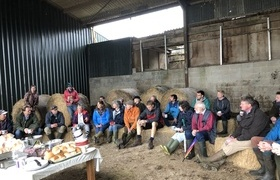 Heavy rain didn't halt two days of inspiring farm walks and talks