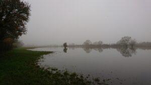 Winter flood